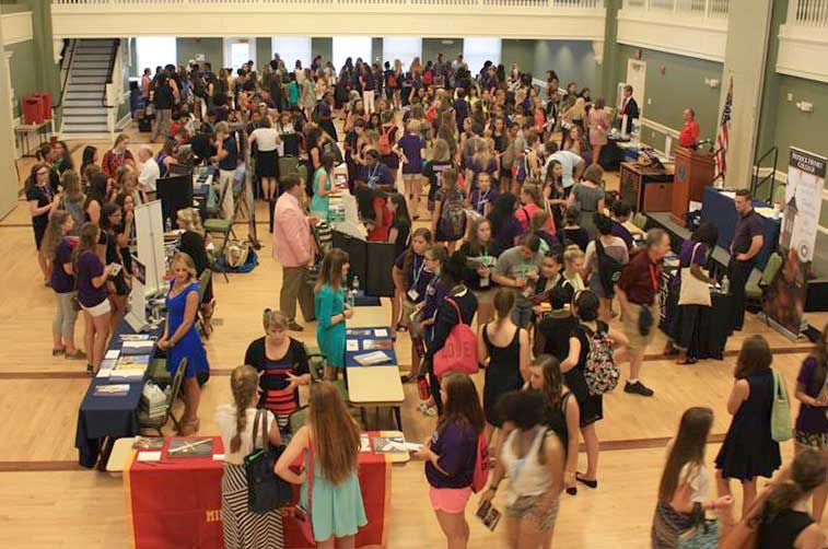 College Day at Virginia Girls State